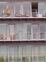 118#11 Dwelling place (Pat's_photos) Tags: london apartment balcony window hww 11811