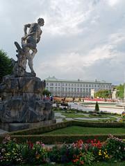 Schloss Mirabell - Salzburg (KaterinaN.) Tags: nika salzburg mirabell austria schloss garden castle statue flower