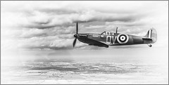 Spitfire 1A Wing to Wing (Anthony Britton) Tags: someofmyfavouritesof2017and2018