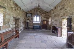 The chancel dating from around 1450 (Carol Spurway) Tags: pockerleyoldhall museum workingmuseum 1820s countydurham openairmuseum beamish stanley livingmuseum