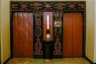 Elevator from The Shining