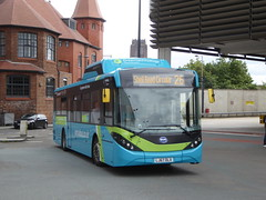 Arriva North West 7000 LJ67 DLX on 26, Liverpool ONE Bus Stn (1) (sambuses) Tags: arrivanorthwest 7000 lj67dlx