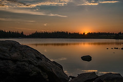 In the Still of the Morning (RkyMtnGrl) Tags: sunrise reflections silhouette brainardlake indianpeakswilderness colorado 2018 nikon 28300mm