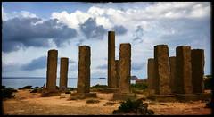 Menhirs (Jean-Louis DUMAS) Tags: baléares ibiza mer trip voyage abstract landscape paysage menhir colonne