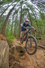 Konstructive AMMOLITE 120 XC R.A.M. Mountain Bike on the North Shore in Vancouver.  Our bikes are custom bikes, hand made in Europe.  http://konstructive.de