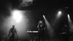 Jane Weaver @  Manchester Ritz 30.11.17 (eskayfoto) Tags: panasonic lumix lx3 gig music concert live band stage tour manchester lightroom manchesterritz ritz theritz janeweaver jane weaver monochrome mono bw blackandwhite p1640820editlr p1640820