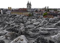 Eger von der Festung aus gesehen (JKP14) Tags: elements eger burg ungarn mauer kirchen stadt