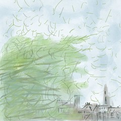 Stormy View (Leaping Life) Tags: stormy weather wind storm