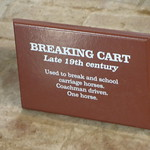 Charlecote Park - Coach House - Breaking Cart Late 19th Century thumbnail