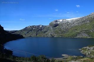 Fjords in Norway around  Bergen