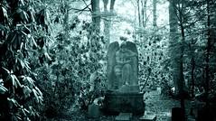 (farmspeedracer) Tags: september 2018 forest chronos god greece myth time memorian memorial χρόνοσ cemetery tombstone green light autumn fall