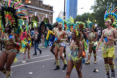 DSC_8323 (photographer695) Tags: notting hill caribbean carnival london exotic colourful costume girls dancing showgirl performers aug 27 2018 stunning ladies