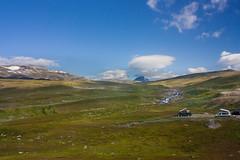 IMG_4946-1 (Andre56154) Tags: schweden sweden sverige landschaft landscape himmel sky fjäll gras wolke cloud camping t6 t3 vw volkswagen california mountain schnee snow
