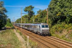 22 septembre 2018 BB 26049  Train 4020 Bordeaux -> Paris-Austerlitz Vayres (33) (Anthony Q) Tags: 22 septembre 2018 bb 26049 train 4020 bordeaux parisausterlitz vayres 33 bb26049 bb26000 sncf ferroviaire voie voiture intercités ic éco gironde aquitaine