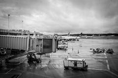 A Stroll Through National Airport (Phil Roeder) Tags: washingtondc nationalairport ronaldreagannationalairport airport blackandwhite monochrome leicax2 leica