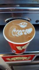 Latte Art By Mr Hobbs Coffee (David Hobbs / Mr Hobbs Coffee) Tags: mrhobbs mrhobbscoffee lattearttraining photo latteart barista wwwmrhobbscoffeecom eventteam foodart mobilecoffee