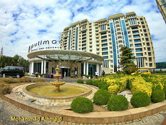 Pullman Baku - azerbaijan (dawey [Mohammad Alhmaid]) Tags: daweyq8 azerbaijan azərbaycan building cloud cloudyporn colors compactcamera dawey gopro goprohero6black landscape mohammadalhameed nature outdoor people photography pullmanbaku sky street travel tree trip water فندقبولمانباكو