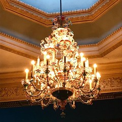 This chandelier is not swinging... # SeeWhatIDidThere (PTank Media Center) Tags: this chandelier is swinging seewhatididthere
