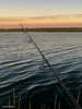 Live in the moment... (John Piekos) Tags: pond stripedbass dunegrass silhouette sunset pondtherapy dunes water iphone saltwaterpond fishing edgartown iphone7 surfcasting marthasvineyard