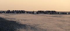 Abendstimmung in St. Peter Ording (dervonderwaterkant) Tags: stpeterording nordsee meer wellen wind strand strandkörbe beach wasser schleswigholstein küste norden