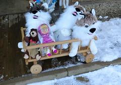 Zakopane-November'17 (136) (Silvia Inacio) Tags: zakopane snow neve poland polska polónia shop toy dog cão