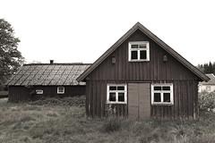 Övergivet (arkland_swe) Tags: övergivet halland lada barn gård farm deserted urbex