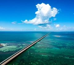 Memory Lane (Fifinator) Tags: dji spark drone florida keys seven mile bridge 7 key largo marathon islamorada road ocean shallow flats aerial sea salt