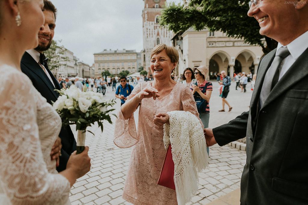 235 - ZAPAROWANA - Kameralny ślub w Krakowie