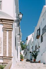 Frigiliana | Spain (Caroline Groneberg) Tags: spanien malaga andalusien stadt städtchen dorf frigiliana weis architektur weisestadt treppe
