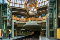 Brussels, Belgium: Kraainem / Crainhem metro station (Line 1) (nabobswims) Tags: be belgium brussels crainhem hdr highdynamicrange ilce6000 kraainem lightroom metro mirrorless nabob nabobswims photomatix rapidtransit sel18105g sonya6000 station subway ubahn bruxelles