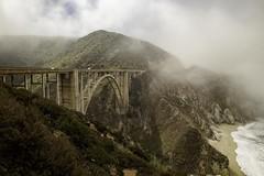 Bixby Bridge (Blazing Star 78613) Tags: bridge bigsur californiacoast californiacentralcoast pch westcoast californiastateroute1 californiahighway1