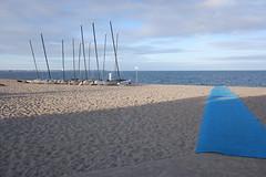 plage des Bretons le matin, après le départ des touristes (megeps) Tags: plage laturballe nobodyonbeach