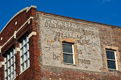 Old Time Home Made, Detroit, MI (Robby Virus) Tags: detroit michigan mi ghost sign signage ad advertisement faded forgotten old time home made brick wall