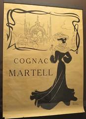 Affiche pour le cognac Martell - Musée des Arts du Cognac, Cognac (16) (Yvette G.) Tags: cognac charente 16 poitoucharentes nouvelleaquitaine musée muséedesartsducognac affiche artnouveau