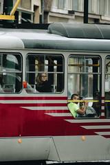 Sguardi sul tram - Praga (matteoguidetti) Tags: people tram train colors urban portrait life citylife urbanphotography praga prague