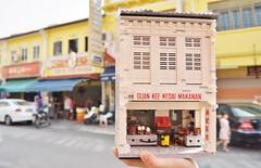 Guan Kee Kopitiam (Color) (gan.marco) Tags: lego moc city food stall cart muar avenue 4 johor
