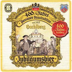 Germany - Brauerei Hacklberg (Passau) (cigpack.at) Tags: germany deutschland jubiläumsbier brauerei hacklberg passau 400thanniversary bier beer brewery label etikett bierflasche bieretikett flaschenetikett