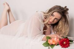 MKM-4792 (Dana Brady) Tags: makeover makeup flowers sensual beauty blonde sheer negligee
