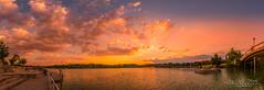 Dreamy sunset (jchmfoto.com) Tags: pinksky spain sunset panorama sky madrid lake europe liked landscape anochecer cielo cielorosa cielorosado crepúsculo dusk españa europa evening lago landscapes nightfall noche ocaso paisaje paisajes panorámica puestadesol puestadelsol sundown twilight