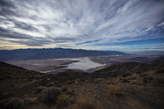 Looking out over Death Valley (CraDorPhoto) Tags: canon5dsr landscape sky clouds valley saltflats mountains mountainrange deathvalley usa california outdoors nature