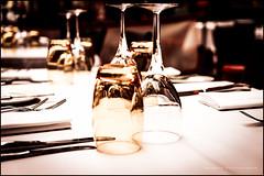 Set for lunch (G. Postlethwaite esq.) Tags: cityoflondon dof leadenhallmarket london sonya7mkii bokeh closeup culery depthoffield fork fullframe glass knife mirrorless photoborder selectivefocus squaremile table