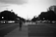 Lost focus (Magdalena Szata) Tags: 2018 analog argentina buenosaires ilforddelta100 ilfordid11 lostfocus minoltacle blackwhite streetphotography
