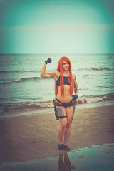 Super biceps at the beach <3 (Riccardo Trevisan) Tags: beach spiaggia shore boardwalk sea riminicomix kimpossible redhead ginger tattooed tattooedgirl fit muscles girlwithmuscles biceps bicipiti flexingmuscles girlbiceps girlmuscles flexing gorgeous omg wow body bodybuilding bodybuilder workout girl ragazza italiangirl cosplay cosplayer cosplaygirl armpits ascelle rimini riminicomix2018 summer summer2018 estate outdoor outdoorphotography photoshoot photoshooting comix daylight