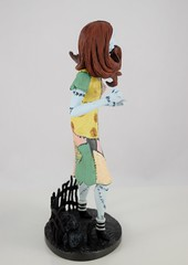 Grand Jester Studios Sally Vinyl Figure - Nightmare Before Christmas 25th Anniversary - Disneyland Purchase - Deboxed - Full Left Side View (drj1828) Tags: nightmarebeforechristmas 25th anniversary sally vinyl figurine disneyland purchase grandjesterstudios deboxed