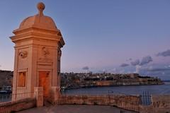 Senglea Point Sunset (Douguerreotype) Tags: castle fort dark historic night cityscape sunset malta architecture valletta city