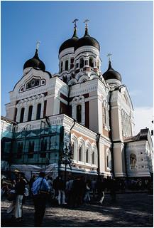182-CATEDRAL ALEXANDER NEVSKI - TALLINN - ESTONIA -