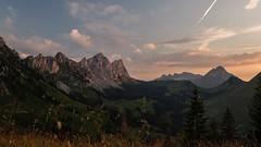 La Gruyère - Jaun / Ref.02355 (FRIBOURG REGION) Tags: suisse switzerland schweiz fribourgregion fribourgrégion lagruyère jaun grandtourdesvanils été sommer summer préalpes voralpen prealps alpes alpen alps montagne mountains gastlosen berge sky himmel ciel landschaft landscape paysage