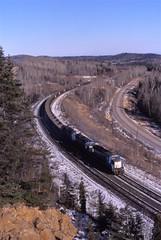 Winter run (ujka4) Tags: northshoremining cyprusnorthshore nsm sd18 1231 mn minnesota silverbay ore taconite
