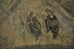 Medieval wall paintings in Norwich Cathedral (Kirkleyjohn) Tags: norfolk norwich norwichcathedral reformation art medievalart wall wallart