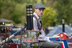 On the Canal (Darwinsgift) Tags: 1940s weekend canalside stoke bruene northamptonshire portrait